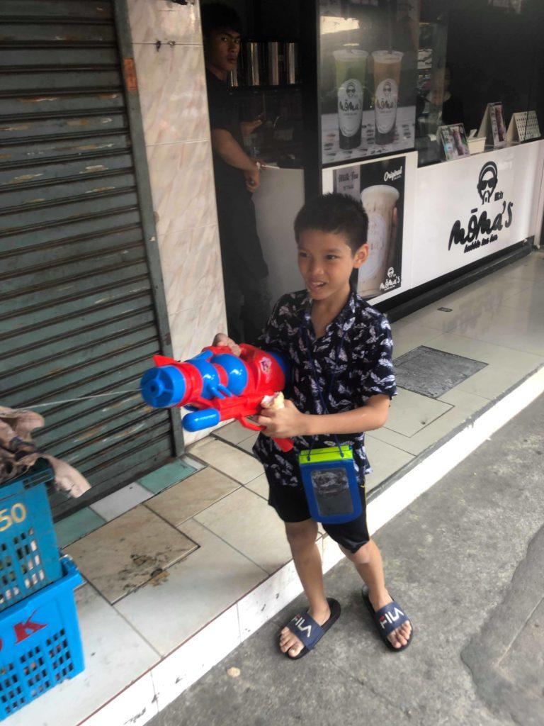 タイの少年