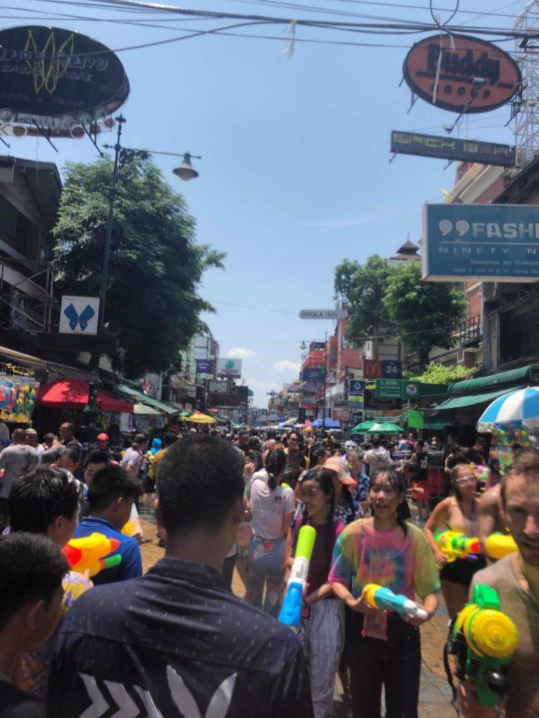 タイの町の様子