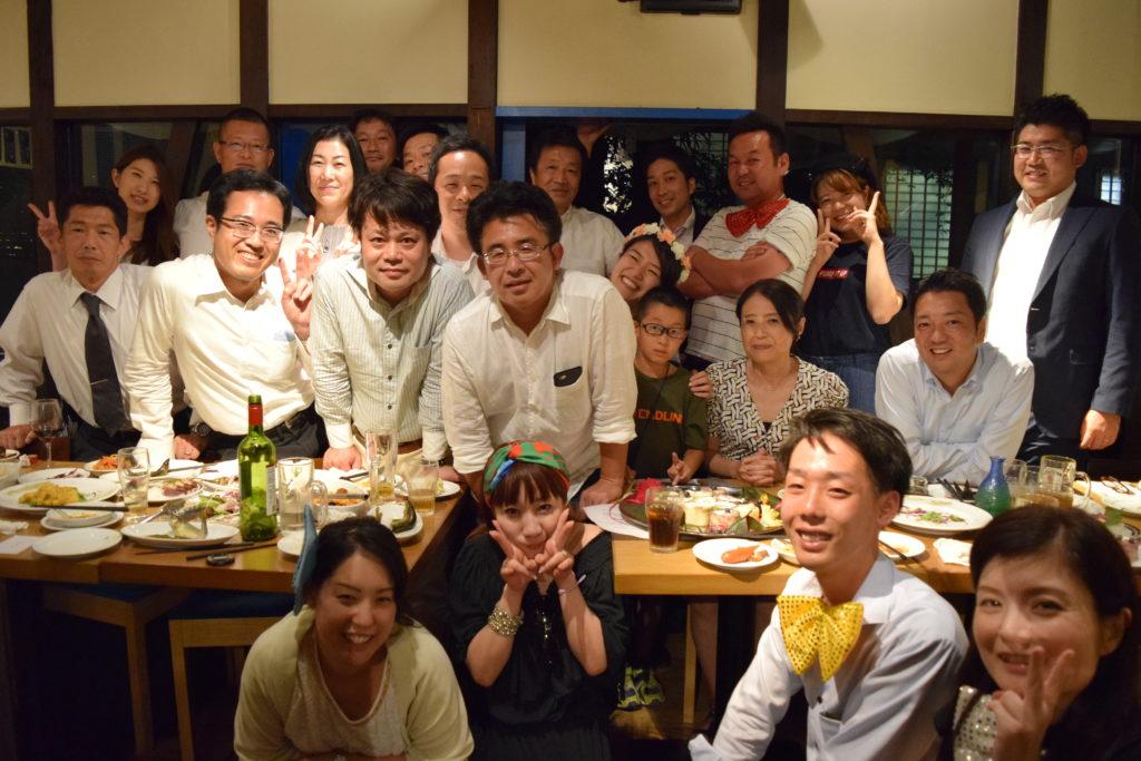 石谷取締役就任お祝い会