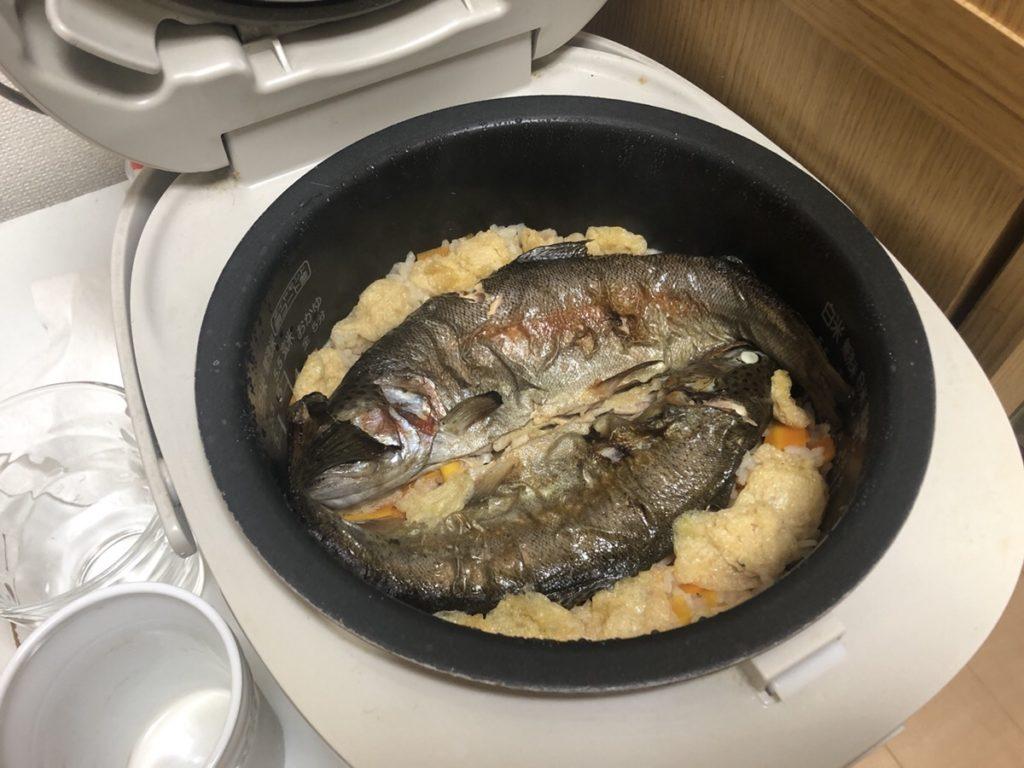 ニジマス料理