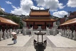 長崎孔子廟・中国歴代博物館の内部