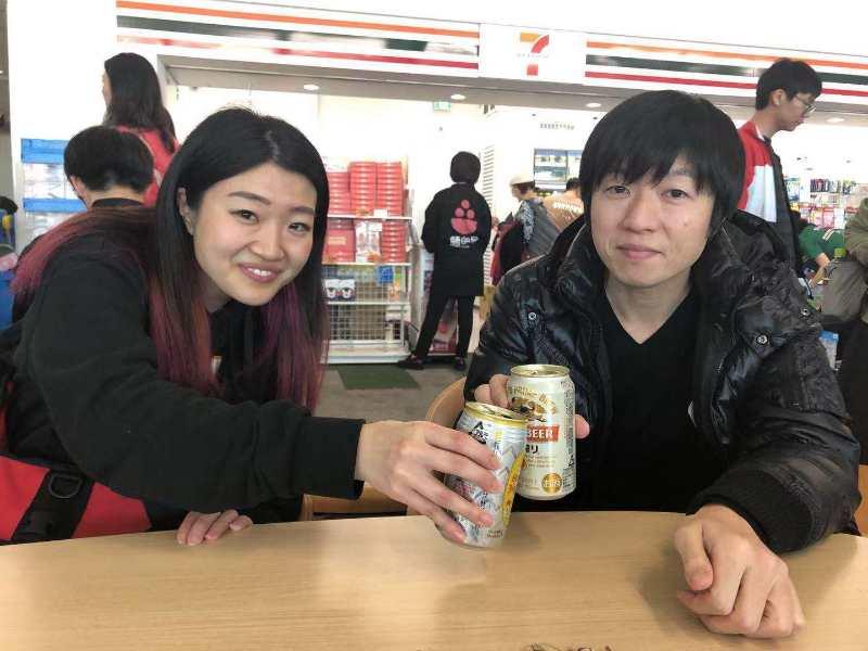福岡空港でのフリータイム