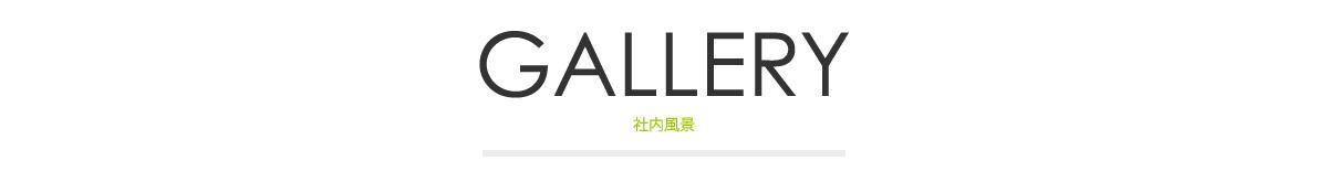 GALLERY|社内風景